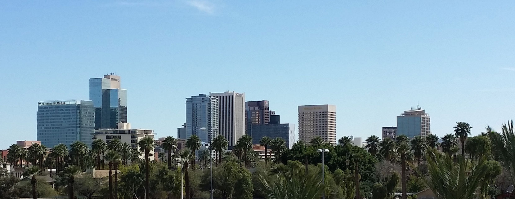 Header image of the dowtown Phoenix skyline